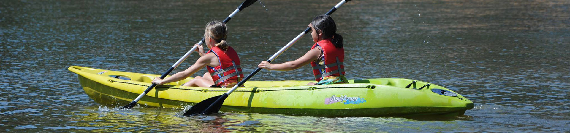 Kayaking - Wes Point Lake Slideshow Photo